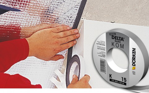 delta-kom-band k 15 самоклеящаяся уплотнительная лента
