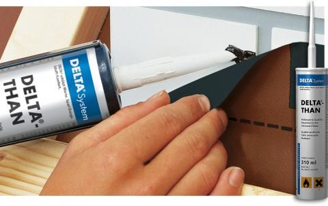 delta-than клей для гидро- и пароизоляционных плёнок