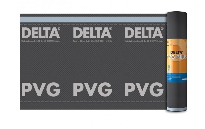 гидро- и пароизоляционная плёнка delta-pvg plus