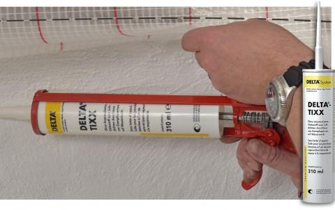 delta-tixx sb клей для пароизоляционных пленок, фолиевая туба