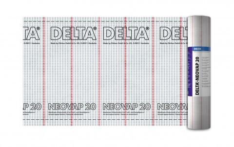 армированная пароизоляционная плёнка delta-neovap 20
