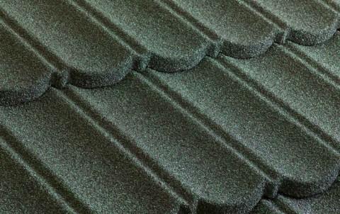 Композитная черепица Metrotile МетроБонд, зеленый