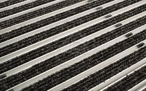 Решетка алюминиевая с войлоком для поддона ACO Vario 100х50 см