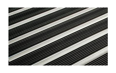 Решетка алюминиевая с резиновым покрытием  для поддона ACO Vario 60х40 см
