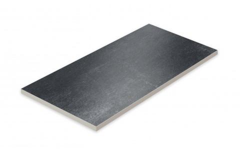 Террасная напольная плитка STROEHER Terio Tec X Profile  717 anthra, размер 794x394x20