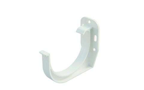 Пластиковый кронштейн MARLEY 125 мм, белый
