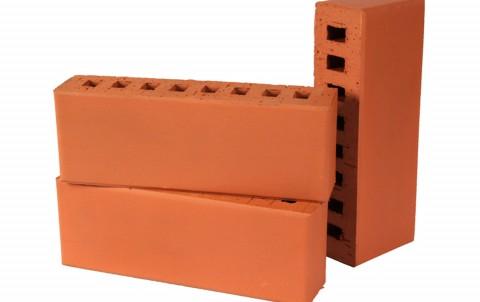Облицовочный кирпич LODE Janka поверхность гладкая, размер 250x60x88 красный