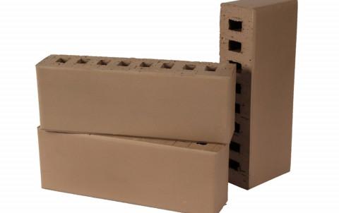 Облицовочный кирпич LODE Brunis поверхность гладкая, размер 250x60x88 коричневый