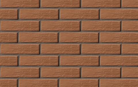 Облицовочный кирпич LODE Vecais Rudis поверхность ретро, формат 1 NF светло-коричневый