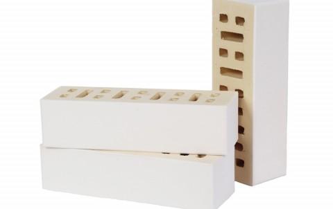 Облицовочный кирпич LODE Blanka поверхность гладкая, формат 0,7 NF белый