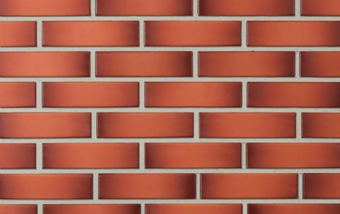 Облицовочный кирпич LODE Gemini поверхность гладкая, формат 0,5 NF красно-пестрый