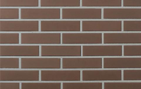 Облицовочный кирпич полнотелый LODE Brunis поверхность гладкая, формат 1 NF коричневый