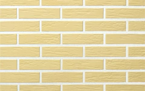Облицовочный кирпич полнотелый LODE Veca Sarmite поверхность ретро, формат 1 NF желтый
