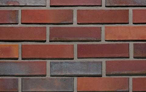 Облицовочный кирпич полнотелый LODE Aquarius поверхность гладкая, формат 1 NF красно-пестрый