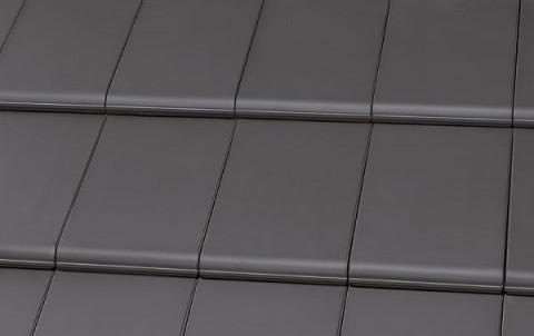 Керамическая черепица ROBEN BERGAMO Schiefergrau серый