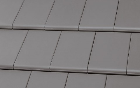Керамическая черепица ROBEN BERGAMO Grau-matt серый матовый
