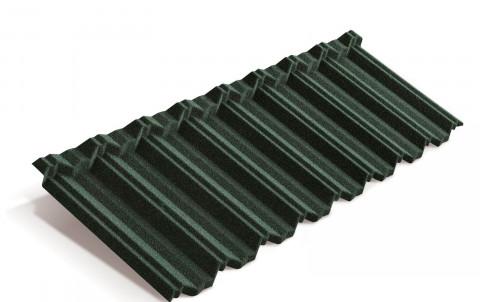 Композитная черепица Metrotile MetroClassic, темно-зеленый