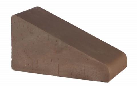 Перекрытие забора малое Brunis LODE 230x125x105 коричневый
