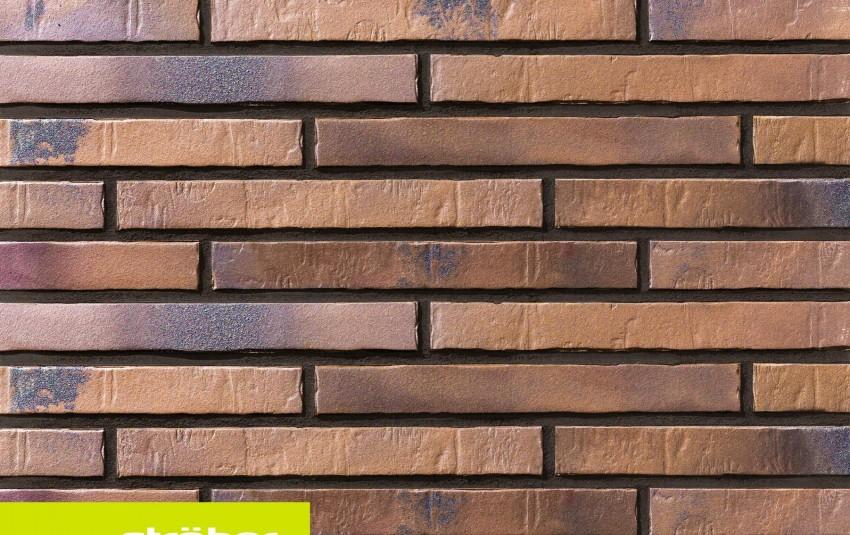 фасадная клинкерная плитка STROEHER Glanzstueck N 5, размер 490x52x14