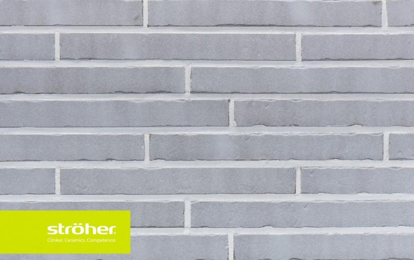 фасадная клинкерная плитка STROEHER Glanzstueck N 7, размер 440x52x14