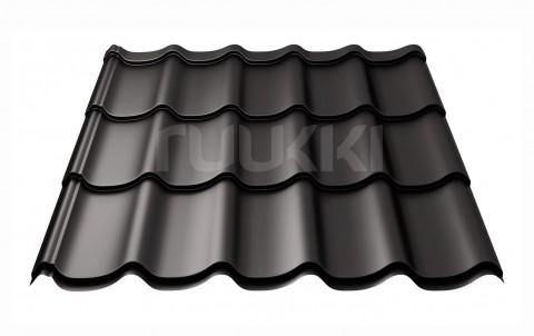 металлочерепица ruukki Monterrey Standart с покрытием Polyester, цвет rr33