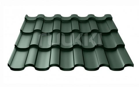 металлочерепица ruukki Adamante с покрытием Polyester, цвет rr11