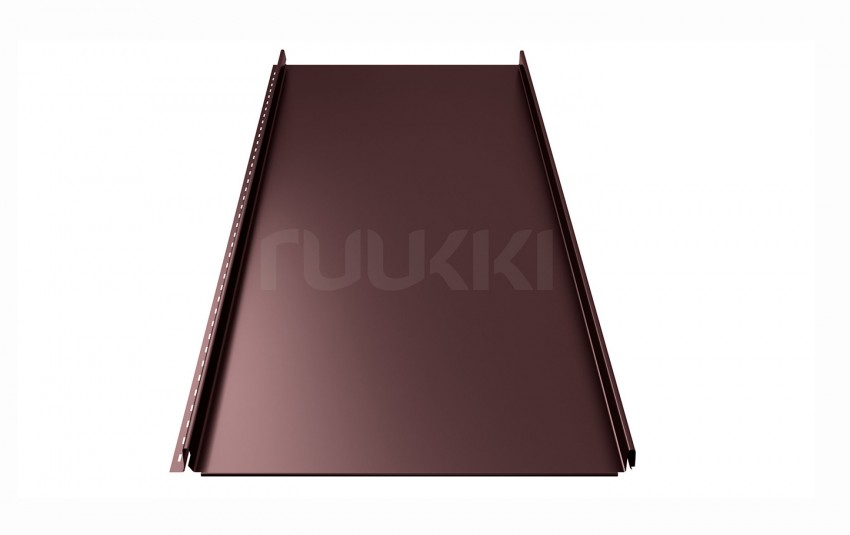 фальцевая кровля ruukki Classic с покрытием Pural/Pural Matt, цвет rr887