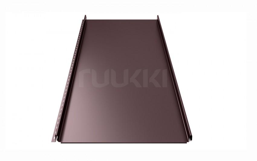 фальцевая кровля ruukki Classic с покрытием Pural/Pural Matt, цвет rr32