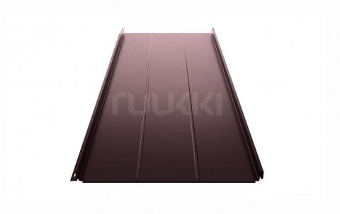 фальцевая кровля ruukki Classic с покрытием Polyester, цвет rr32
