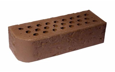 Облицовочный кирпич TERCA TERRA риф FAT-M 0,7 NF коричневый