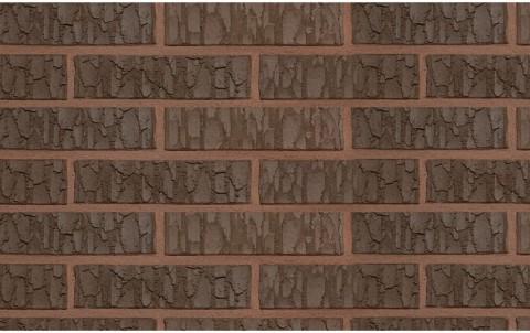 Облицовочный кирпич TERCA TERRA VULCANO FAT 0,7 NF коричневый