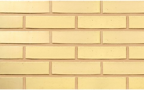 Облицовочный кирпич TERCA SAFARI гладкий FТТ 0,7 NF желтый