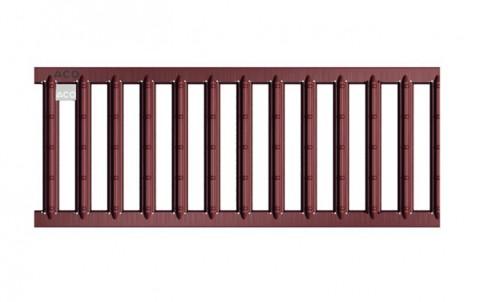 Решетка из оцинкованной стали с порошковым покрытием для каналов ACO SELF 0.5м