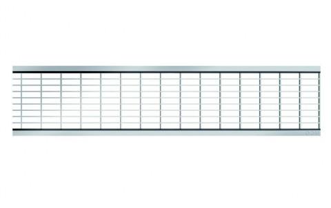 Решетка из оцинкованной стали - ячеистая 30х10мм для каналов ACO SELF 0.5 м