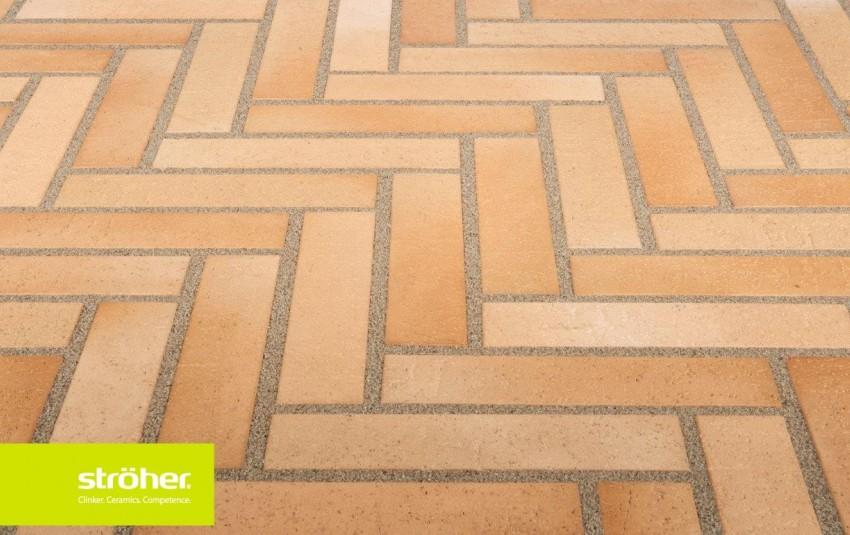 Тротуарная плитка STROEHER SPALTKLINKER, 240x52, braun