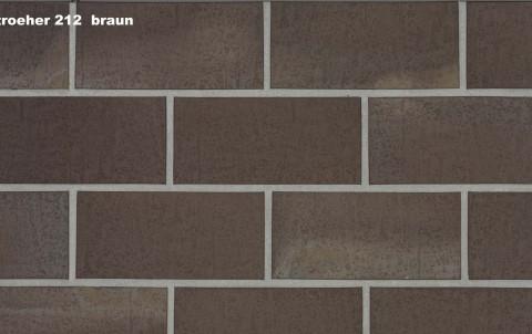 Тротуарная плитка STROEHER SPALTKLINKER, 240x115, braun