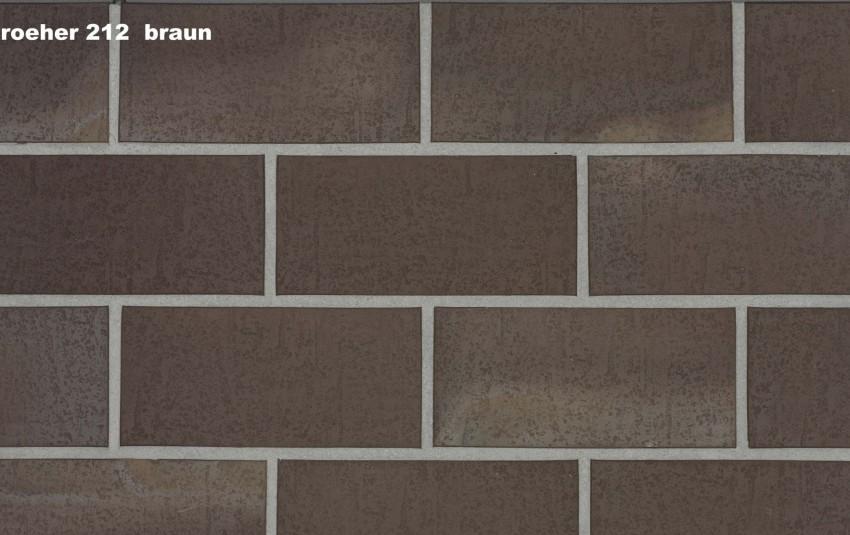 Тротуарная плитка STROEHER SPALTKLINKER, 240x115, цвет 212 braun
