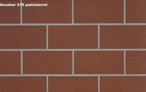 Тротуарная плитка STROEHER SPALTKLINKER, 240x115, patrizierrot