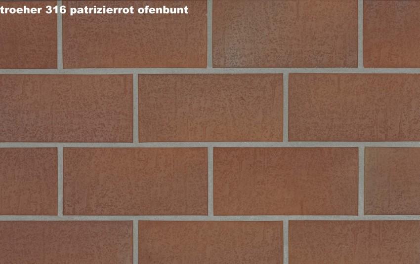 Тротуарная плитка STROEHER SPALTKLINKER, 240x115, patrizierrot ofenbunt