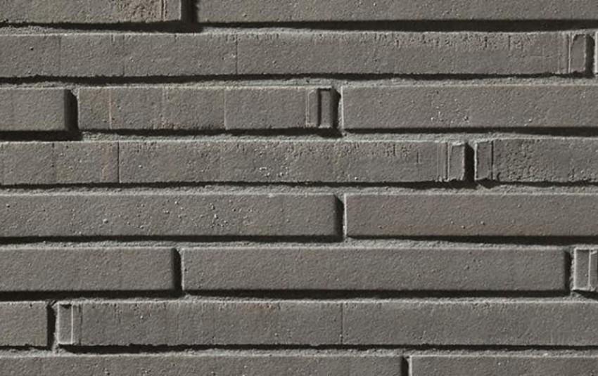 Кирпич ригель формата GIMA Perano грифельный 390х115х40