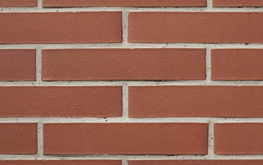 Кирпич ригель формата GIMA Bologna красно-коричневый 490х115х65