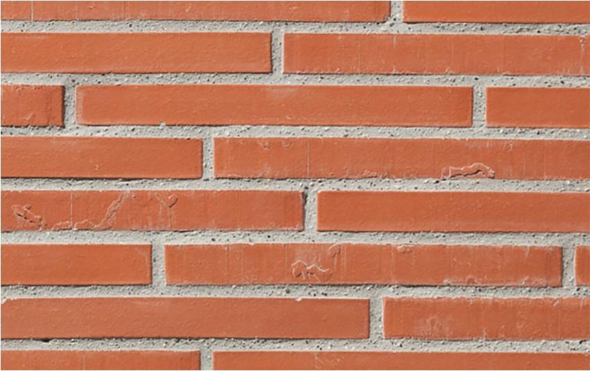 Кирпич ригель формата GIMA Bari красный 490х115х65