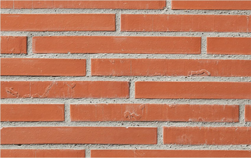 Кирпич ригель формата GIMA Bari красный 490х115х71