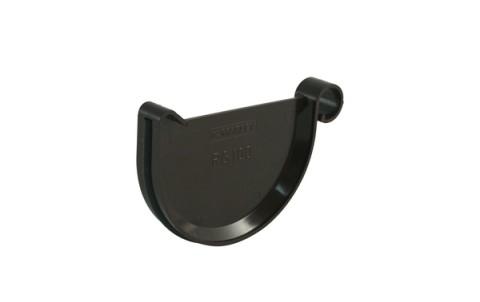 Заглушка желоба универсальная MARLEY 125 мм, коричневый