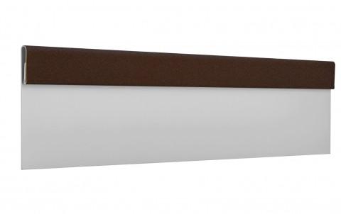 Финишная планка L=2 м.п., покрытие PURAL MATT, цвет RAL8017