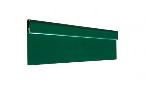 Финишная планка L=2 м.п., покрытие PURAL, цвет RAL6005