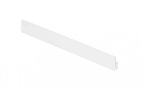 G-планка AQUASYSTEM, L=2 м.п., покрытие PURAL, цвет RR20