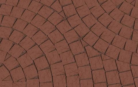 Клинкерная брусчатка LODE Brunis 60x60x62 коричневый