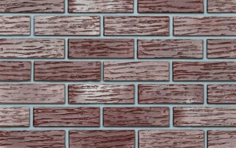 Клинкерный кирпич Roben Adelaide бордовый, NF, 240x115x71, рифленый
