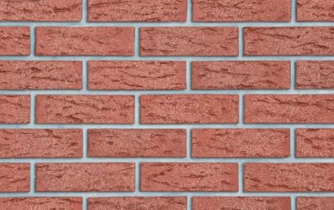 Клинкерный кирпич Roben Victoria красный, NF, 240x115x71, рифленый